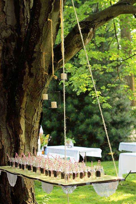 Unique Backyard Wedding Ideas by 20 Attractive And Unique Outdoor Wedding Bar Ideas