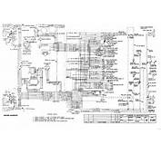1956 Classic Chevrolet  Large Wiring Diagram