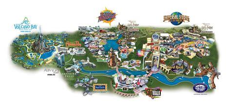 universal orlando map universal orlando 174 resort