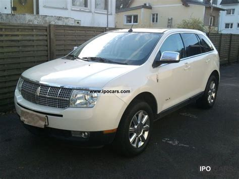 2008 lincoln mkx specs 2008 lincoln mkx car photo and specs