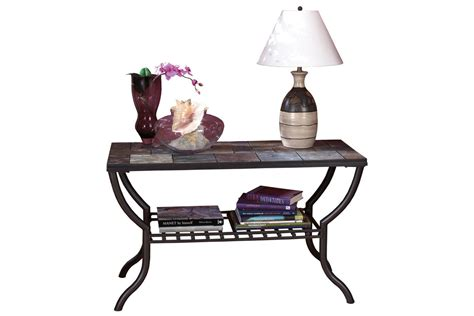 Slate Sofa Table by Slate Iron Sofa Table At Gardner White
