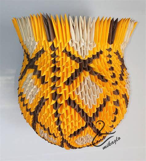 3d origami vase tutorial 54 best how to make 3d origami vase tutorial images on