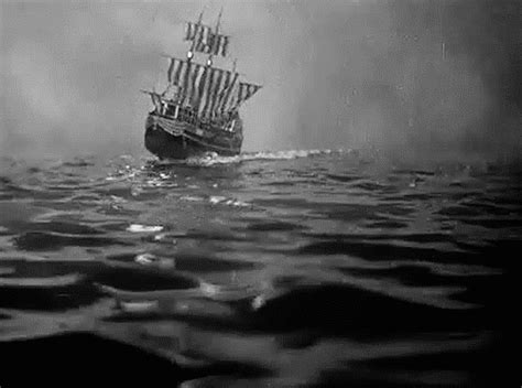 blow up boat gif black and white vintage gif by hoppip find share on giphy