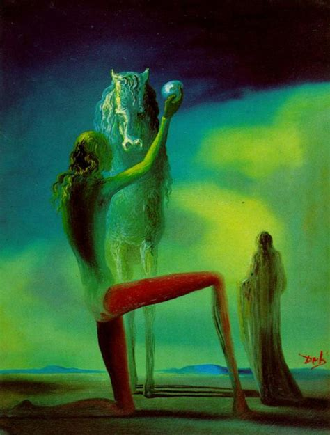 3 Paintings By Salvador Dali by Maher Gallery Salvador Dal 237 1904 1989 Painting