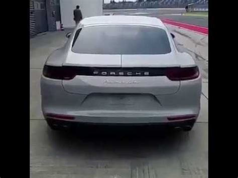 Porsche Panamera Turbo S Sound by Porsche Panamera Turbo S Show 2018 You Should Hear