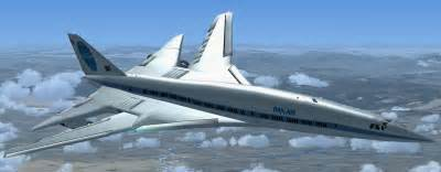 Air Panel Led boeing 2707 sst updated for fsx