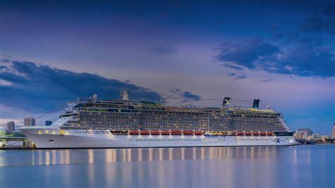 celebrety pictures reflection cruise ship cruises