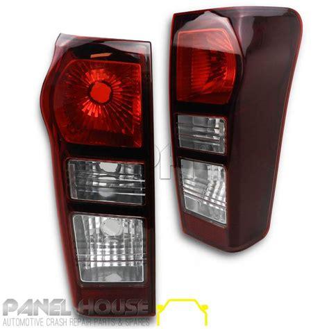 isuzu  max ute   pair rear dmax tinted tail light lamp lh rh  led panel house