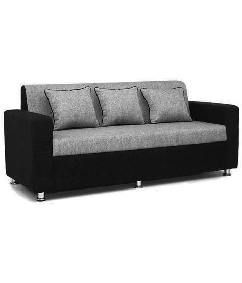 buy sofa set bls tulip black grey 3 1 1 sofa set buy bls tulip black