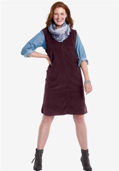 Q2 Jaket Sweater Hoddie Jumper corduroy jumper plus size dresses within