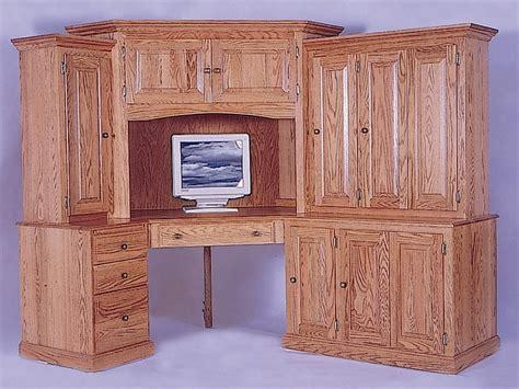 Amish Corner Desk Amish Corner Computer Desk