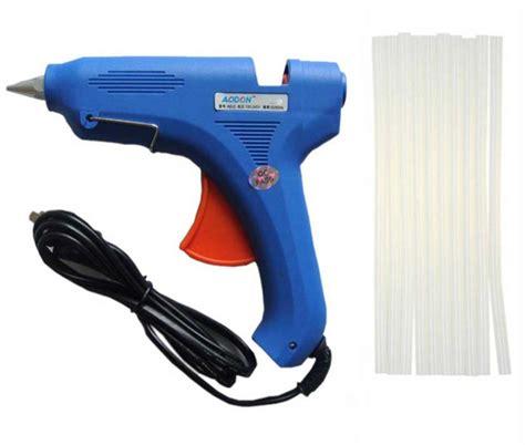 Kenmaster Lem Power Glue 3 Pcs glue gun 80w with 10pcs glue sticks best deals nepal