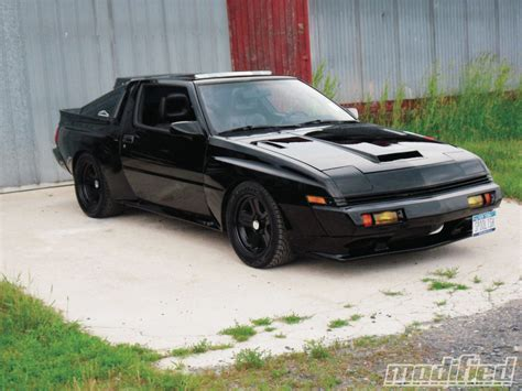 mitsubishi conquest 1988 chrysler conquest tsi dale myers modified magazine
