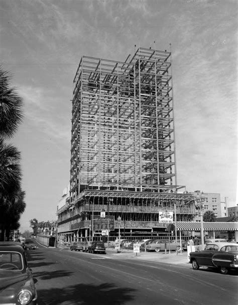 florida memory view looking at construction of the