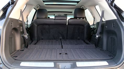 infiniti qx60 trunk space 2013 infiniti jx qx60 road test
