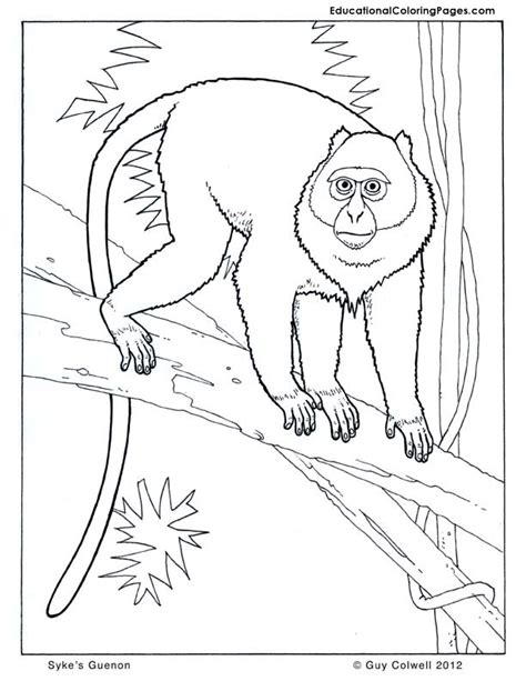 howler monkey coloring page howler monkeys colouring pages page 2
