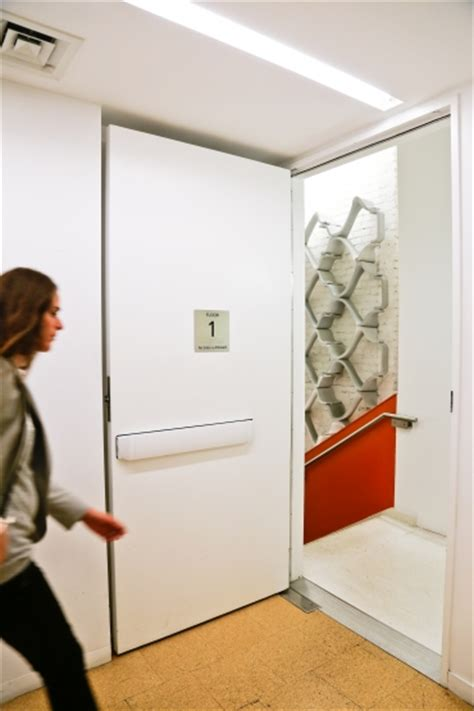 Keep Door Open by Health Promoting Stair Bill Passes In Nyc