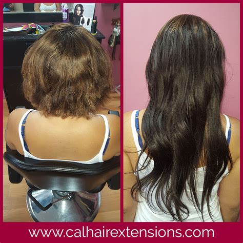 sew in hair extensions before and after hair extensions before after photos california hair