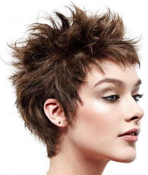haircuts for women long hair that is spikey on top trendy short shaggy hairstyles for 2017 hairstyles 2018