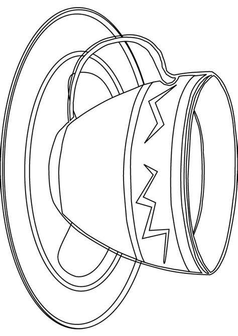 the gallery for gt cup of tea coloring page