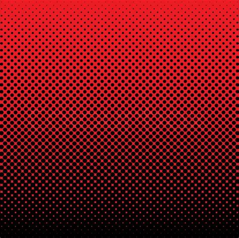 black abstract wallpaper vector red and black abstract halftone dot background ideal