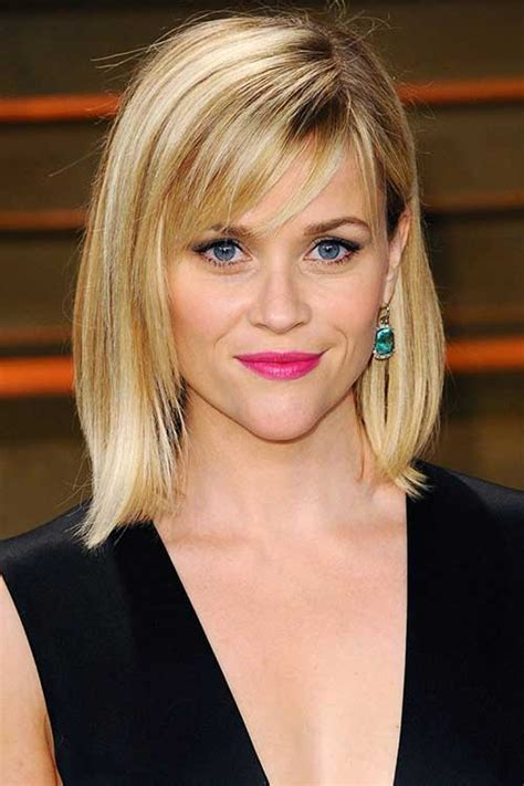Reese Witherspoon Hairstyles by With Hair And Bangs Hairstyles