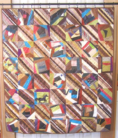 Quilting Leather by The World According To Me Leather Quilt With Brown