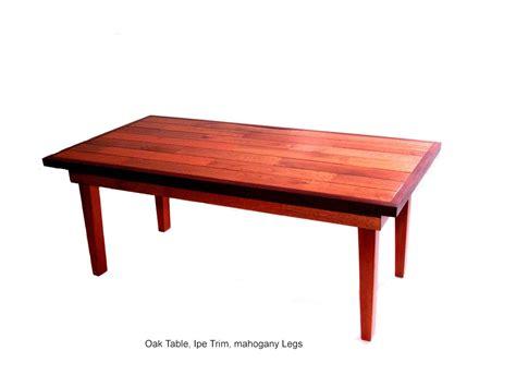 custom made oak tables custom oak coffee table by jonmercer custommade com