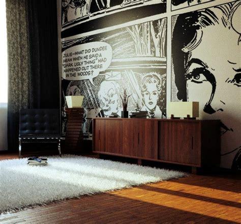 60s wohnzimmer wohnzimmer wandgestaltung ideen coole beispiele f 252 r