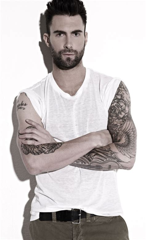 25 adam levine tattoos slodive