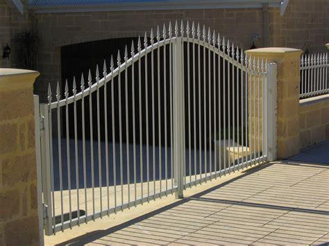 swing gate sliding swing gates perth craftsman fencing