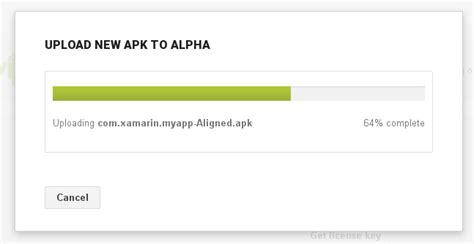 upload apk on play manually uploading the apk xamarin