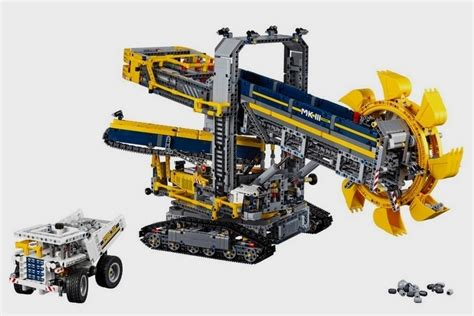 Cool Kitchen Gadgets lego technic bucket wheel excavator