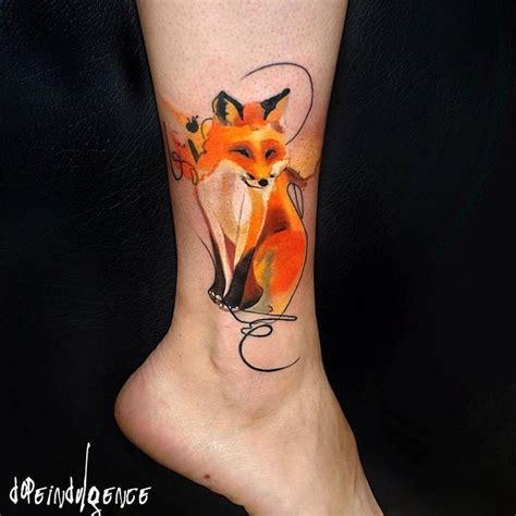 46 adorable fox tattoo designs and ideas tattoobloq