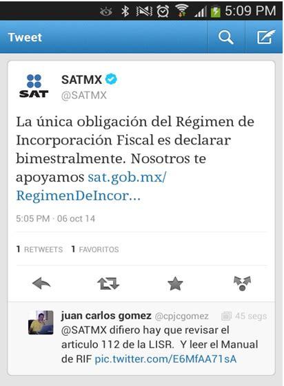 regimen de incorporacion fiscal 2014 actualizado con la resolucion el sat insiste en minimizar la carga fiscal y