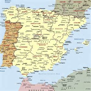Spain Map With Cities by Spain Map Spain Cities Maps