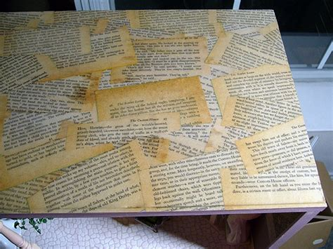 Decoupage With Book Pages - pin by henrickson on craft ideas
