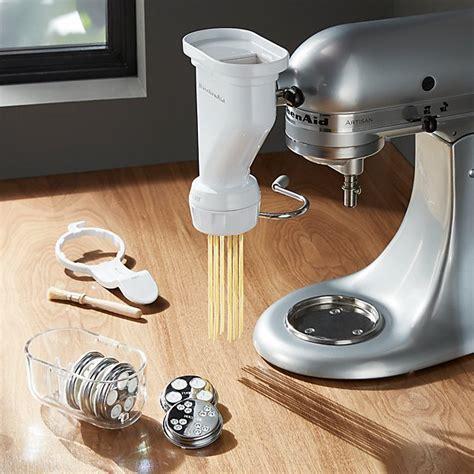 kitchenaid stand mixer pasta press attachment crate