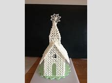 Royal icing church cake topper | Cake topper | Pinterest ... Ideas For Decorating A Cake For Christmas