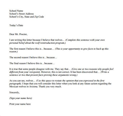 pin persuasive letter format on pinterest