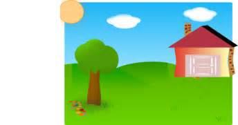backyard clip at clker vector clip