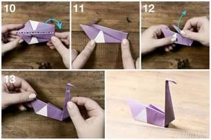 Swan Origami Tutorial - easy origami swan tutorial