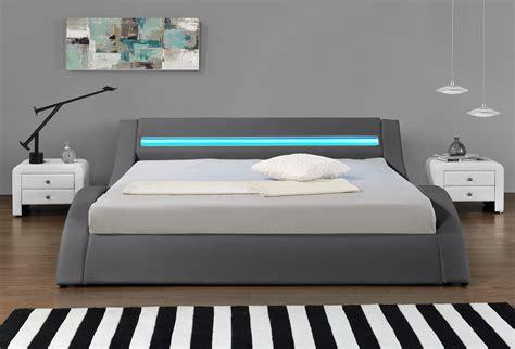 led lit lit design led gris hypnia lit 224 leds avec t 233 l 233 commande