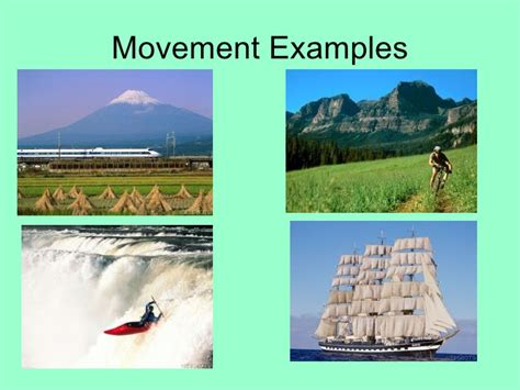 Themes Of Geography Movement Exles | 5 themes of geography