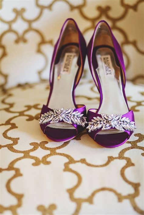 Purple Wedding Shoes by Purple Wedding Shoes Chwv