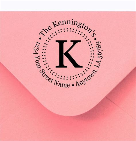 personalized rubber address st personalized custom made return address and name rubber sts
