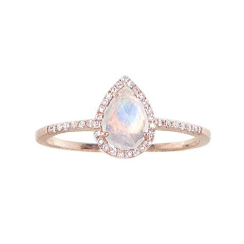 Single Band Engagement Rings by Best 25 Moonstone Engagement Rings Ideas On