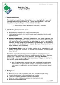 business proposal templates examples business plan