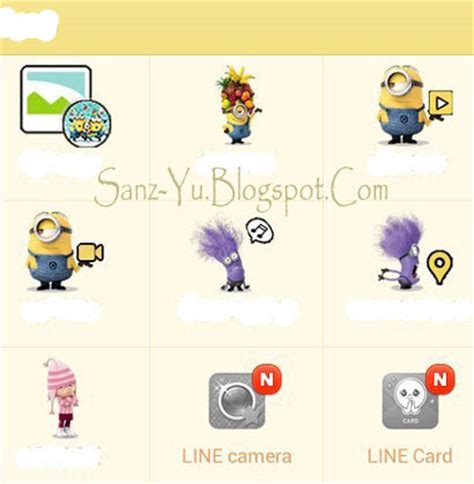 theme line for android despicable me sanz yu sanzeda fay lupe despicable me2 minion newest