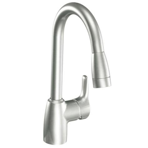 one handle kitchen faucet cleveland faucet group ca42519csl baystone one handle